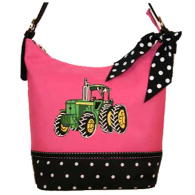 WHOLESALE TRACTOR PRINT HANDBAG