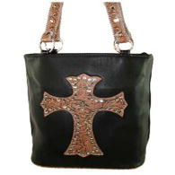 WHOLESALE RHINESTONE CROSS HANDBAG