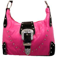 WHOLESALE RHINESTONE BUCKLE HANDBAG