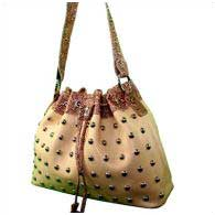 WHOLESALE WESTERN SILVER STUDDED BAG